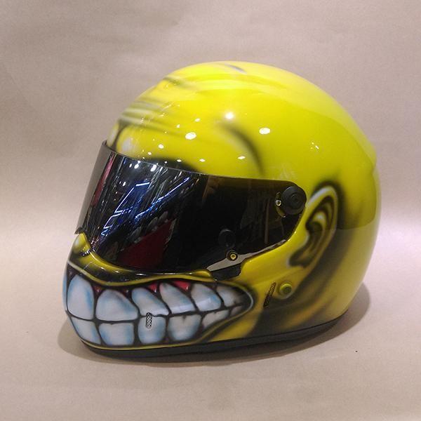 Custom Paint Car Racing Drag Nascar Bell Arai Helmets