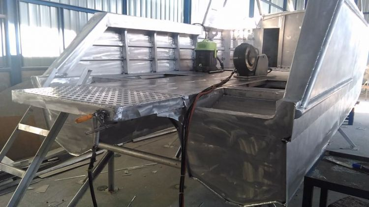 9 M Aluminium Powercat Reduced Price