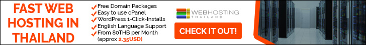 Fast Web Hosting Thailand - Hosted on Bangkok Servers