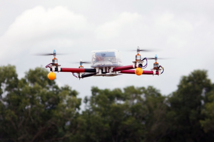 Waterproof Quadcopter With Camera Mounts