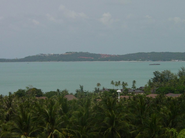 Koh Samui 1.6 Rai = 2552m2 Seaview Land In Bophut