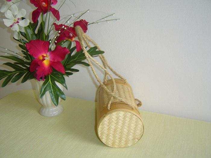 Otop 100% Bamboo-Palm Tree Hand Made Bag