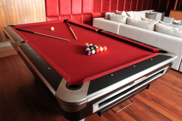A Stunning Modern Pool Table For Sale