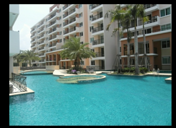 Paradise Park Condo One Bed Room for Sale Luxury Furniture