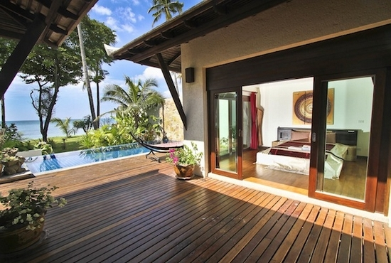 Absolute Beach Front Pool Villa