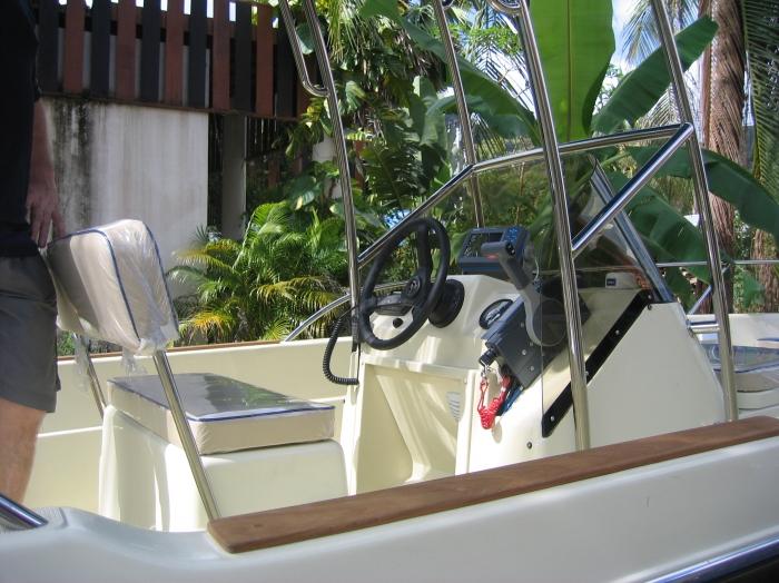 Beeblo 625, 2009 Mod With Older 85 Hp Yamaha 2 Stroke