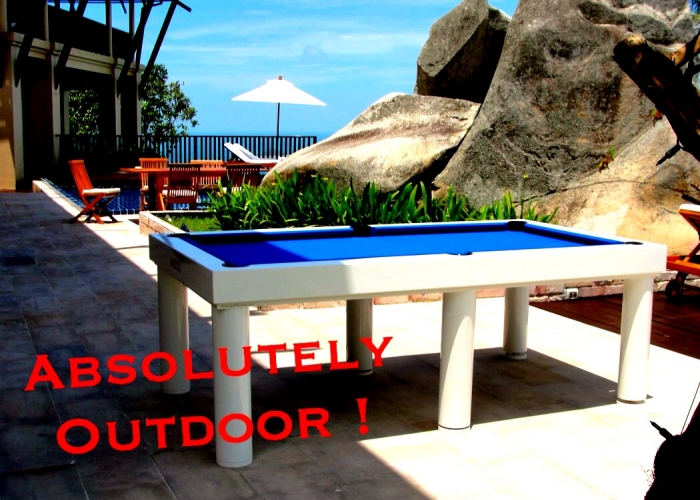 Outdoor Billiards By Thailand Pool Tables