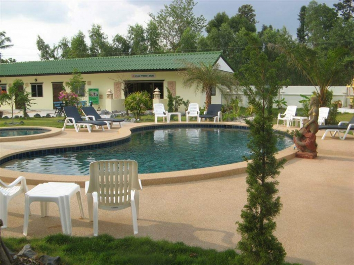 A Fantastic Resort, Swimming Pool Private, Bungalow On 2 Rai