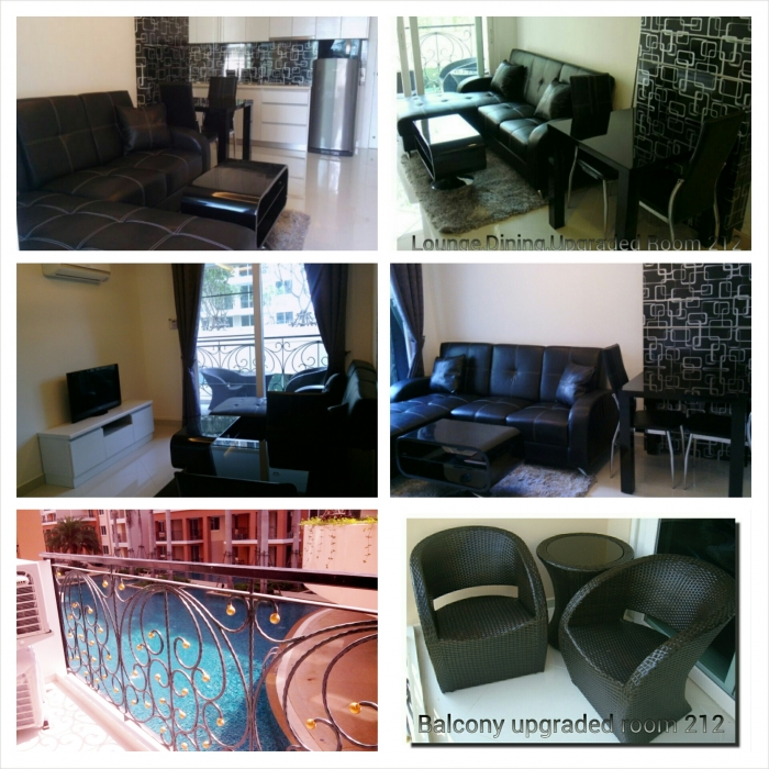 Paradise Park 1 Bedroom For Rent Pool View 2nd Floor