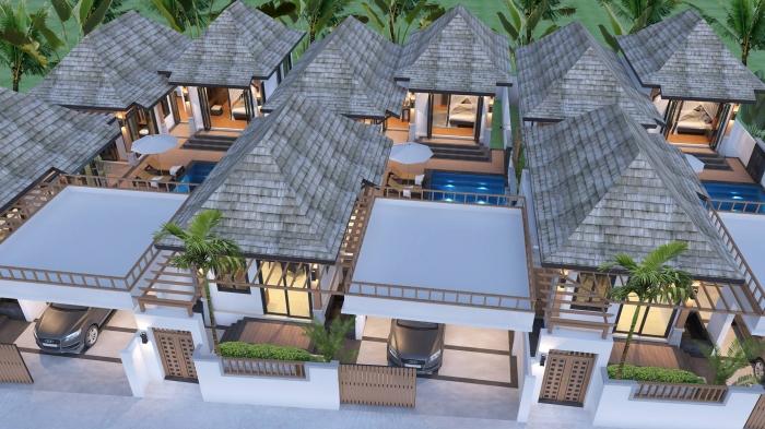 2-3 Bedrooms Pool Villa Bali Style Rawai Phuket