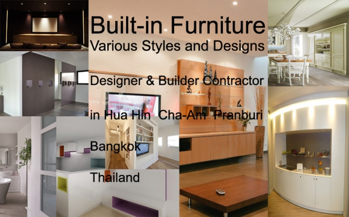 Built-in Furniture Contractor - Saving Space Design Hua Hin