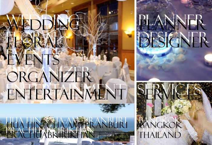 Wedding Planner Florist Designer Event Organizer In Hua Hin