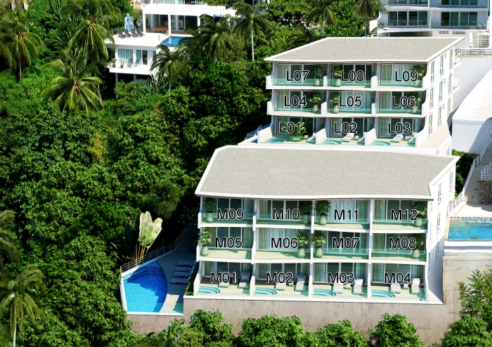 Luxury 'Kata Ocean View' Condo For Sale, Phuket.