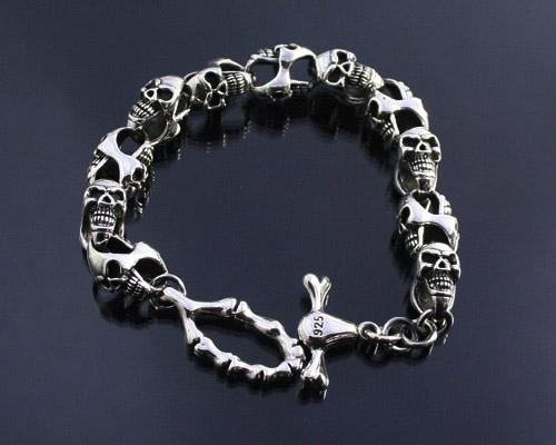 Dragon, Eagle biker Style Silver Bracelets