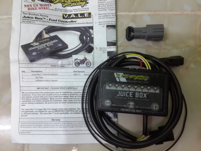 Two Brothers Racing Juicebox For Sale