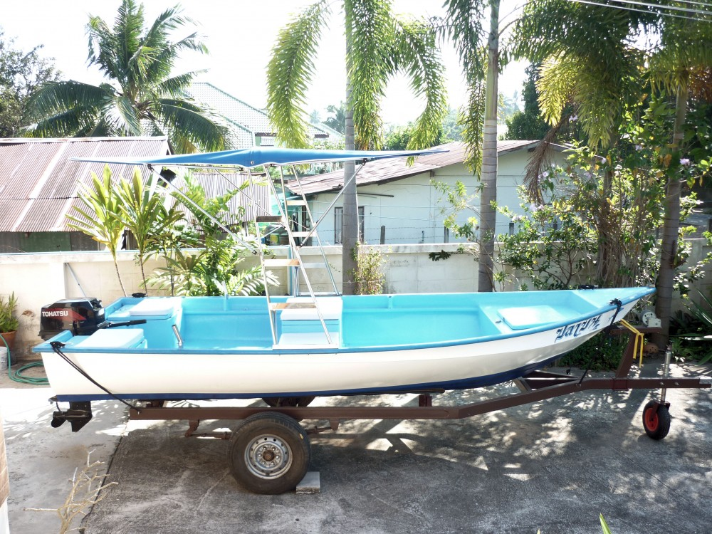 17' open hull fishing speed boat