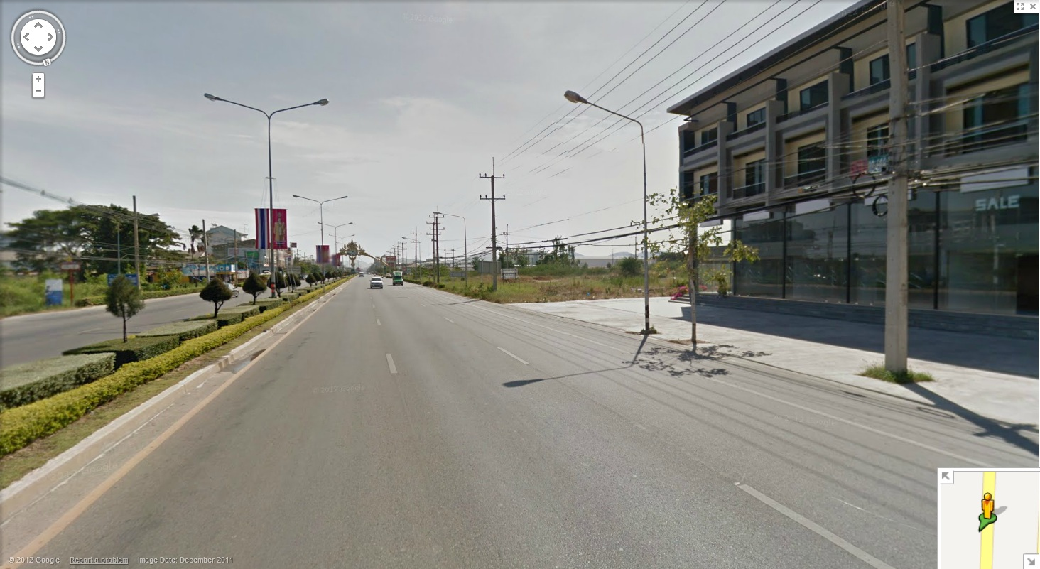 13 Rai on HuaHin main road. 33% Discount from Bank's appraised value