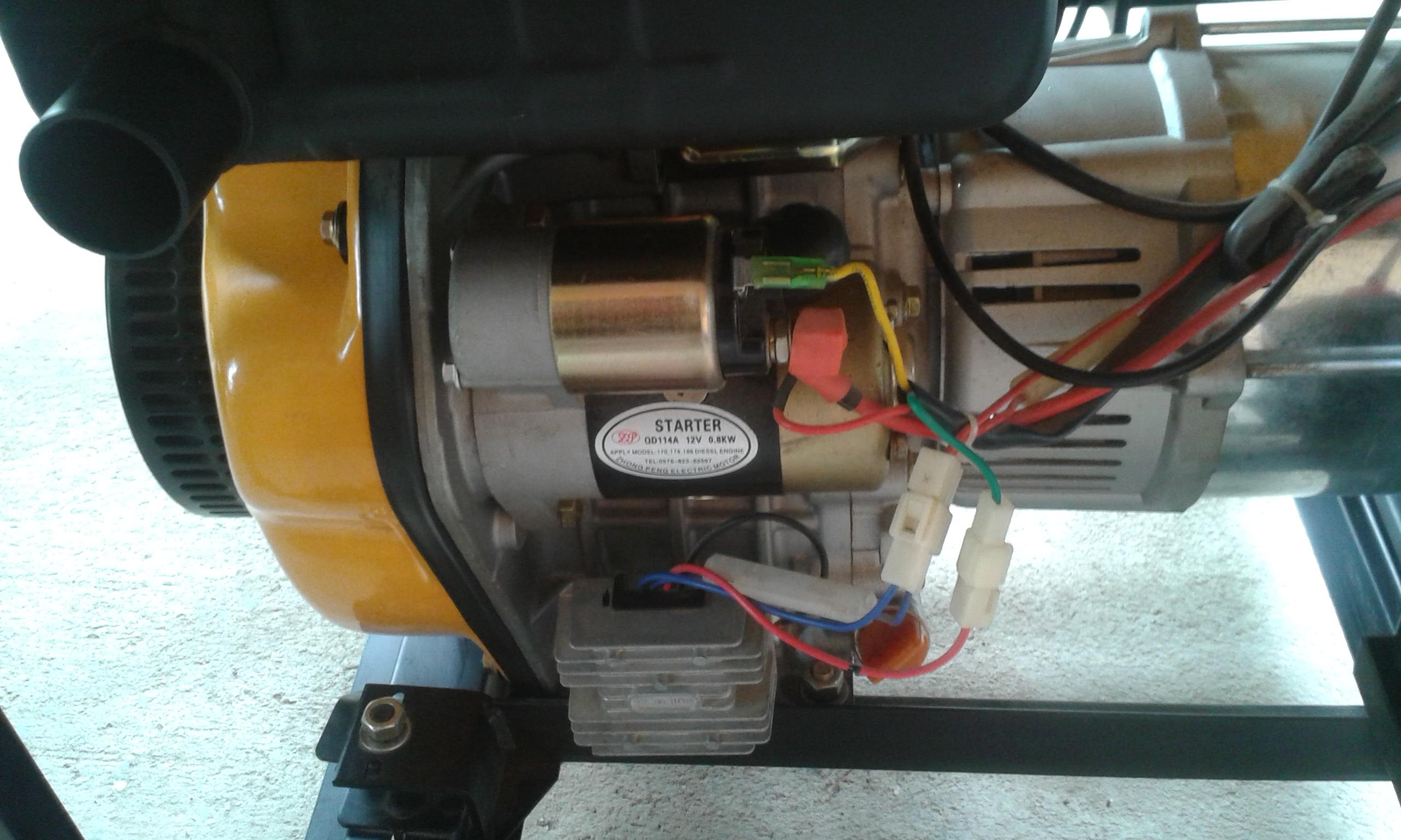 5 KVA Electric Start Diesel Generator
