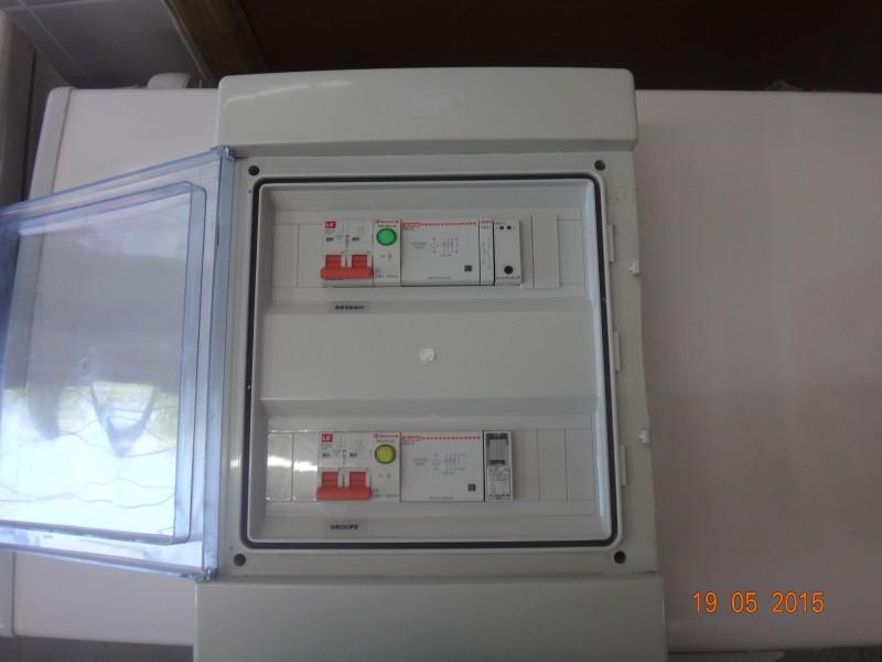 Reverser automatic/ generator mono15kva