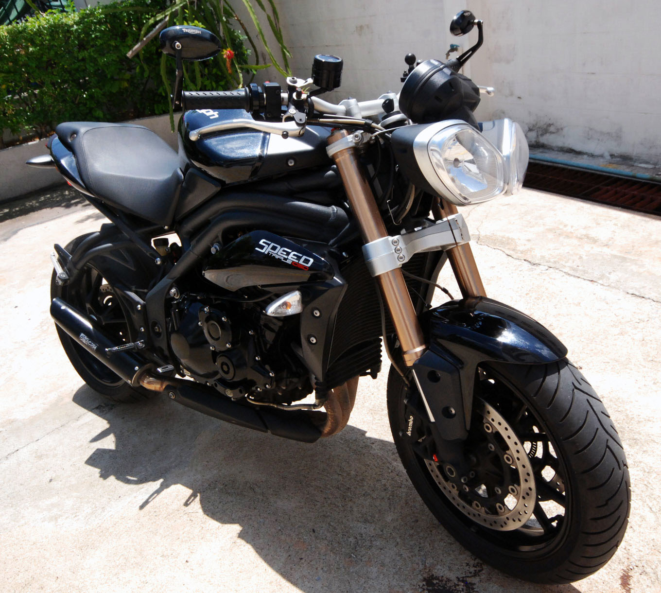 Triumph Speed Triple 1050 2011