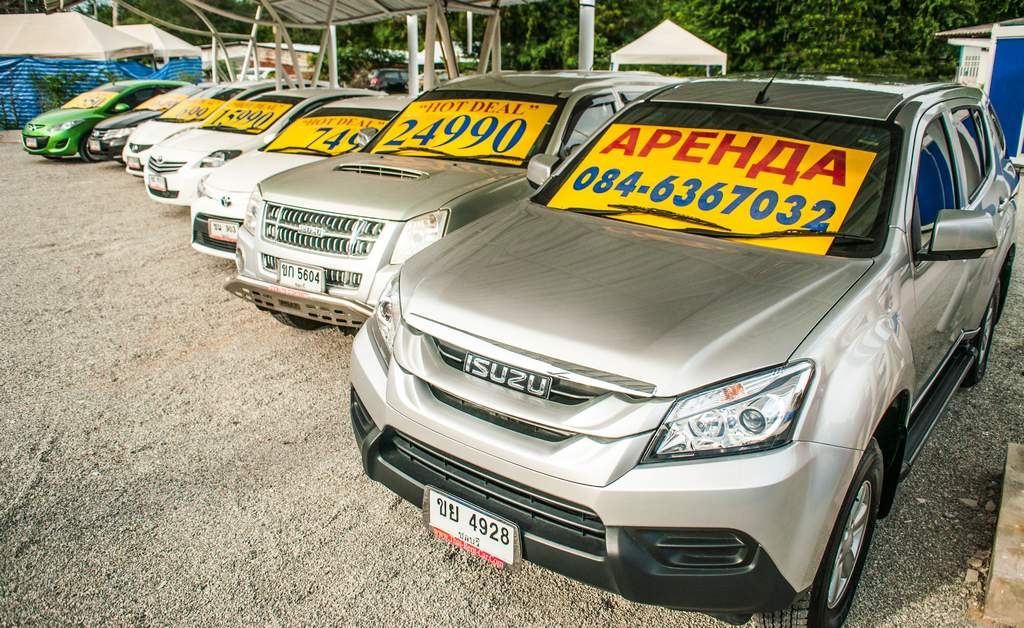 Low cost Rental Car In Pattaya. Price start from 240 ฿/day