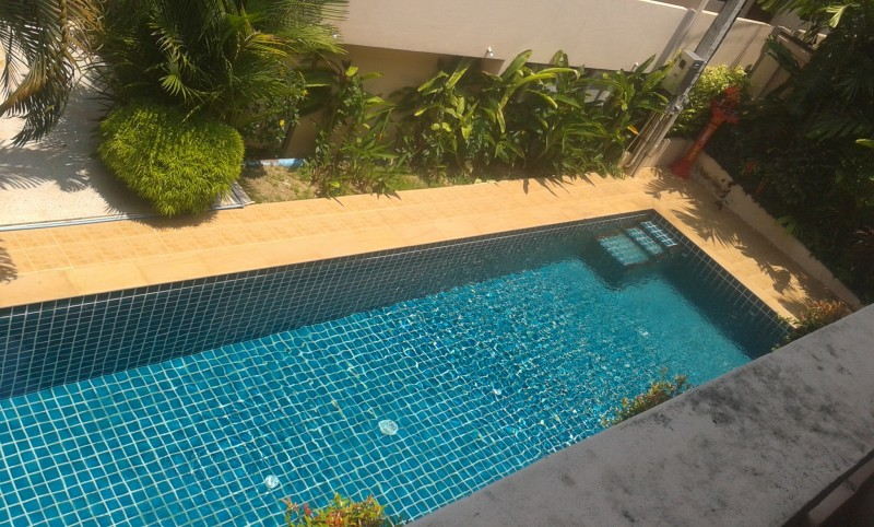 A 2 bed communal pool villa for rent Nai Harn