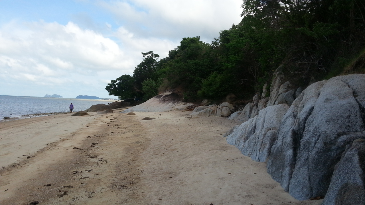 Beachfront land for sale, Koh Pha-Ngan