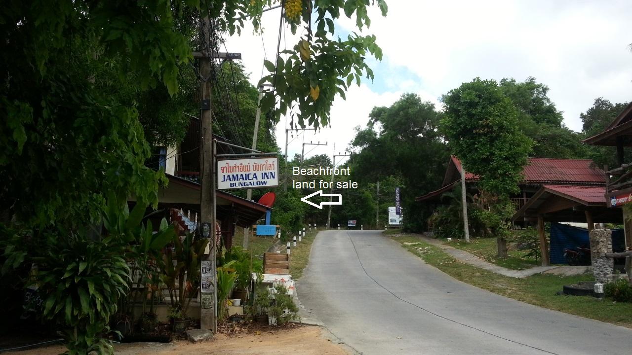 Beachfront land for sale, Koh Pha-Ngan