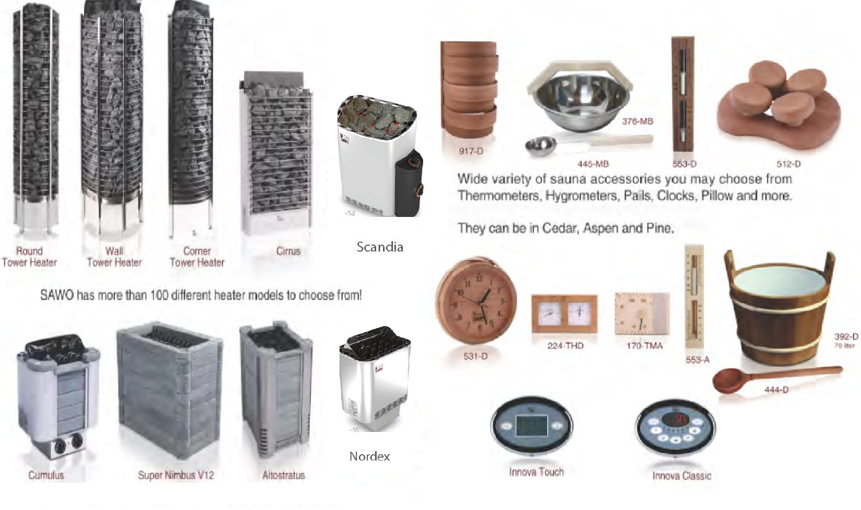 Saunas And Accessories For Sale Thailand