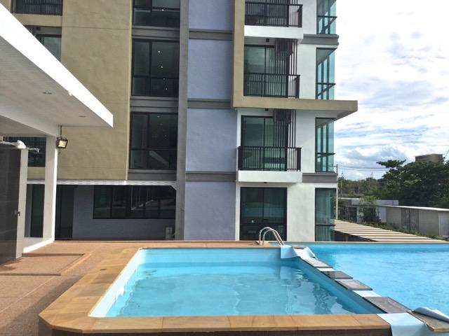Korat condo, furnished, pool, to let
