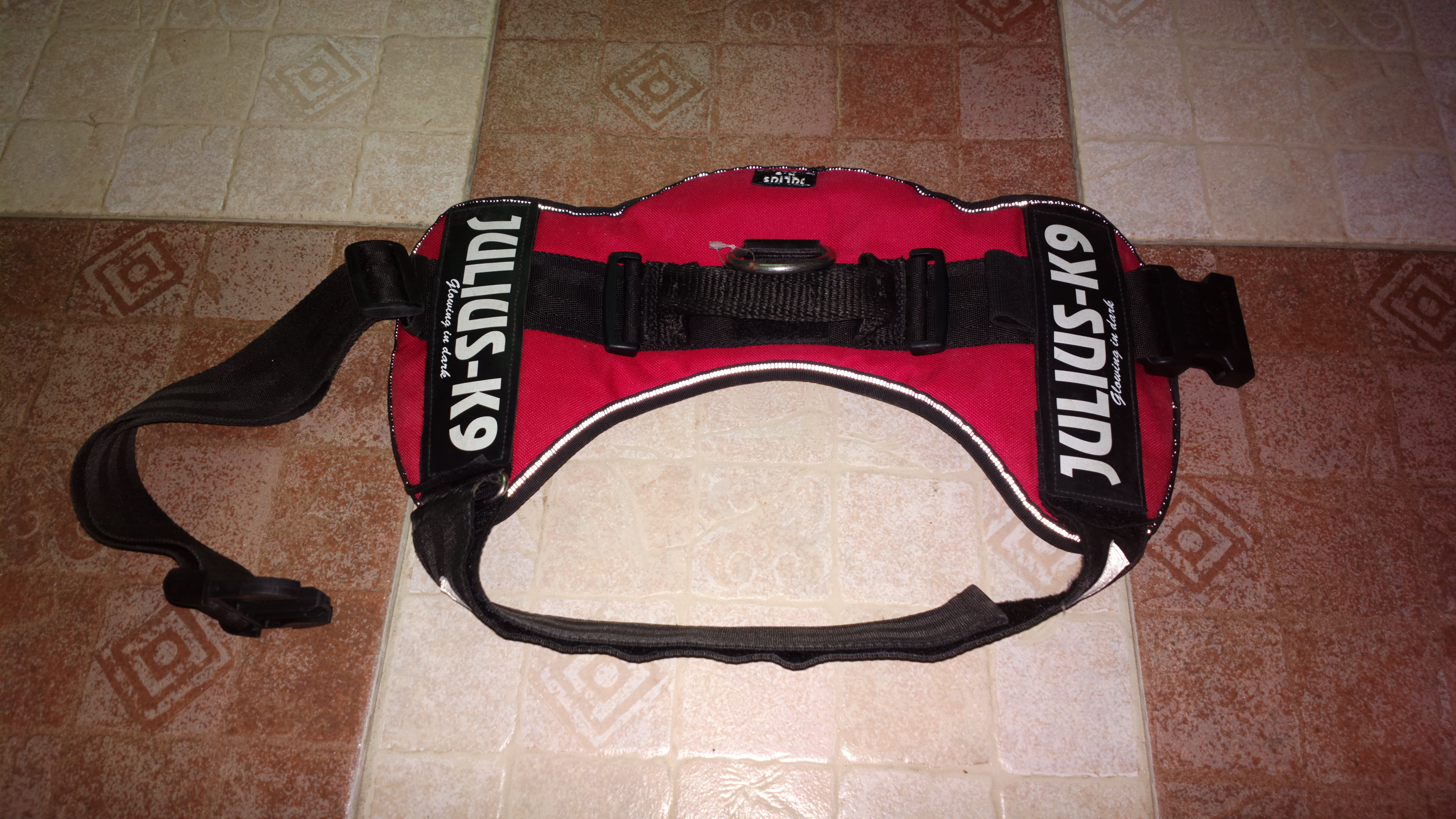 Julius K9 Harness from Germany, Size 2 for big Breed