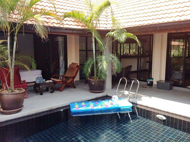 For rent nice 3 bedroom private pool villla in Bang Kao