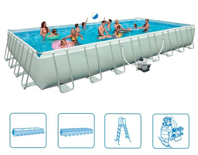 Largest Above Ground Pool in Thailand at lowest price ever!