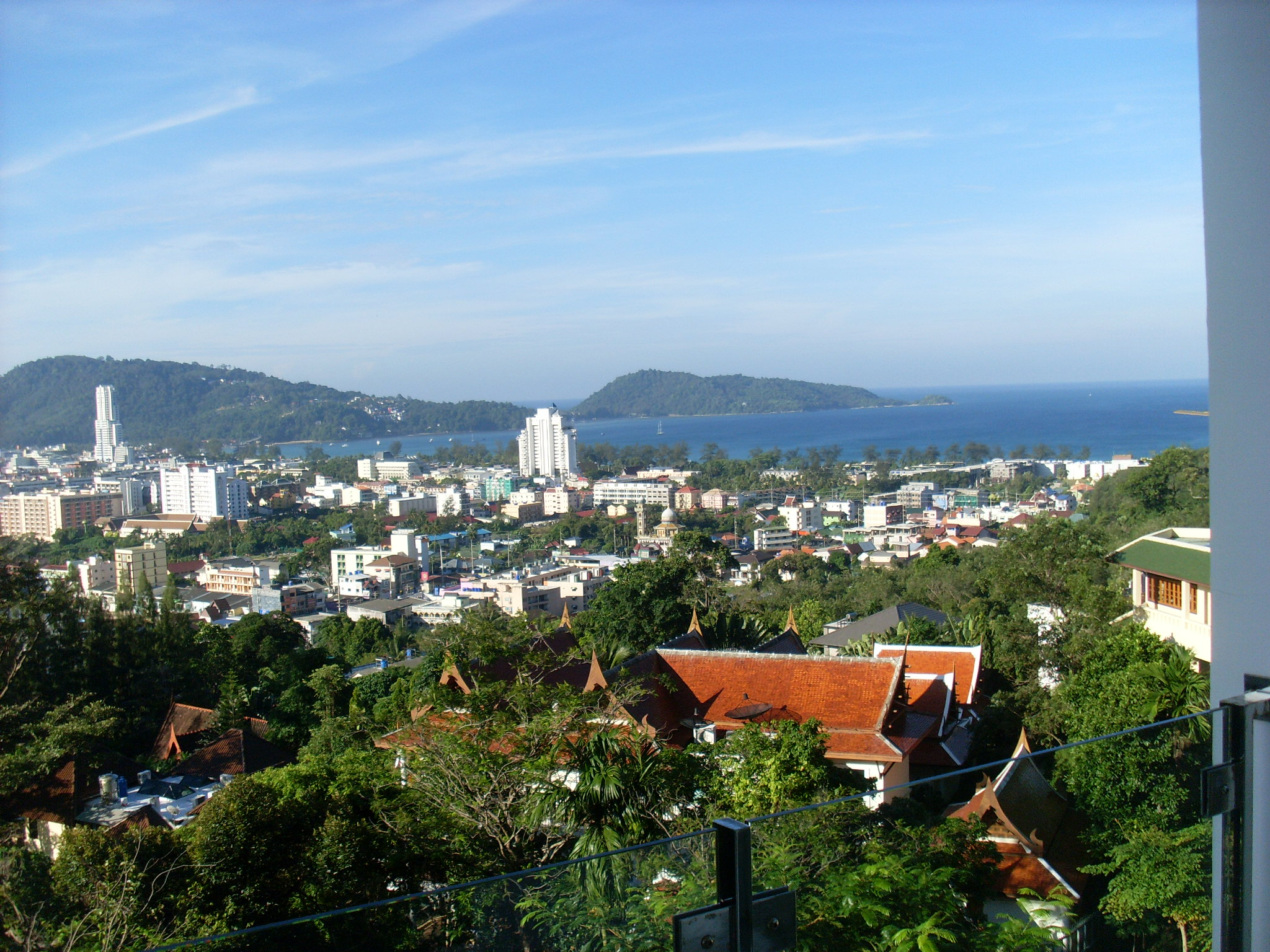 Sea view properties for sale in Patong.