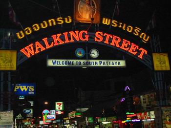 Pattaya Walking Street GoGo Bar Sale