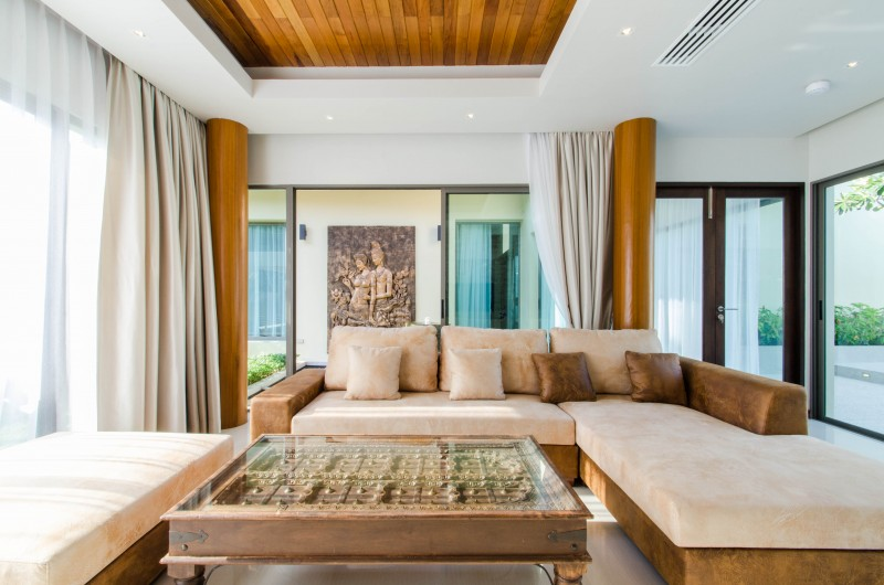 Brandnew 3 Bedrooms Villa For Sale At Layan ( Near Beach)