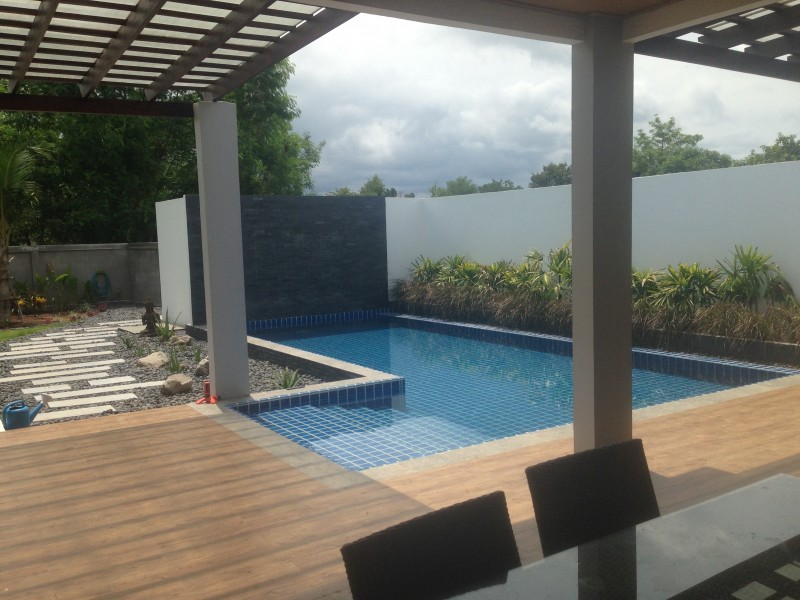 Modern two bedroom house  on 1500sqm with chanot