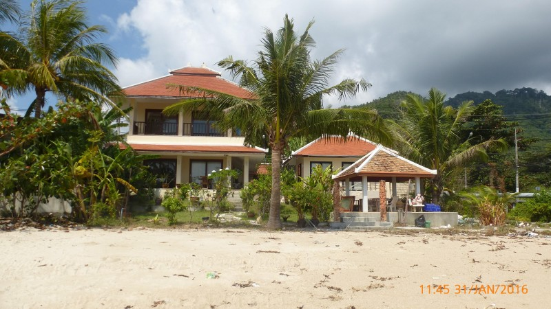 Beachfront villa for sale Koh Samui