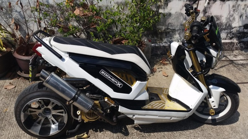 The Ultimate Honda Zoomer X 45,000 baht
