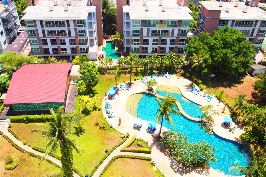 Phuket Palace resort condo Patong,large 1BR, 50 SQM