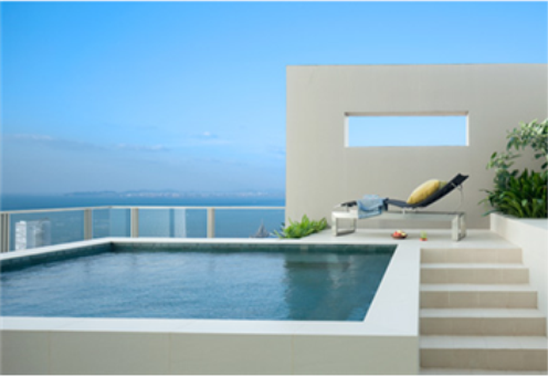 Beachfront penthouse condo for sale