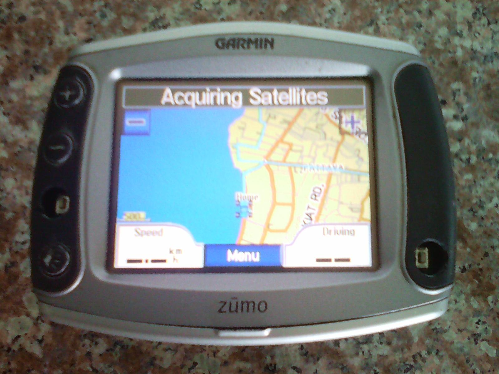 Garmin Zumo 500/550 car or motor cycle GPS