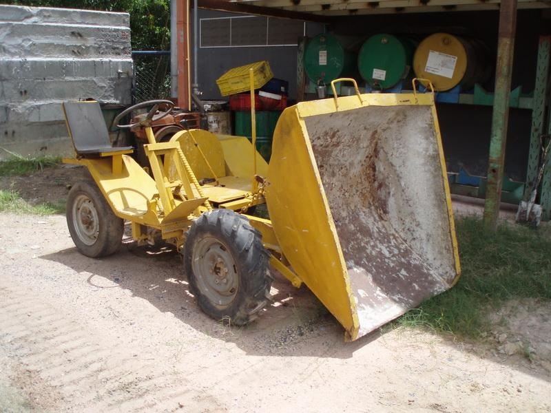 Building Site Dumper