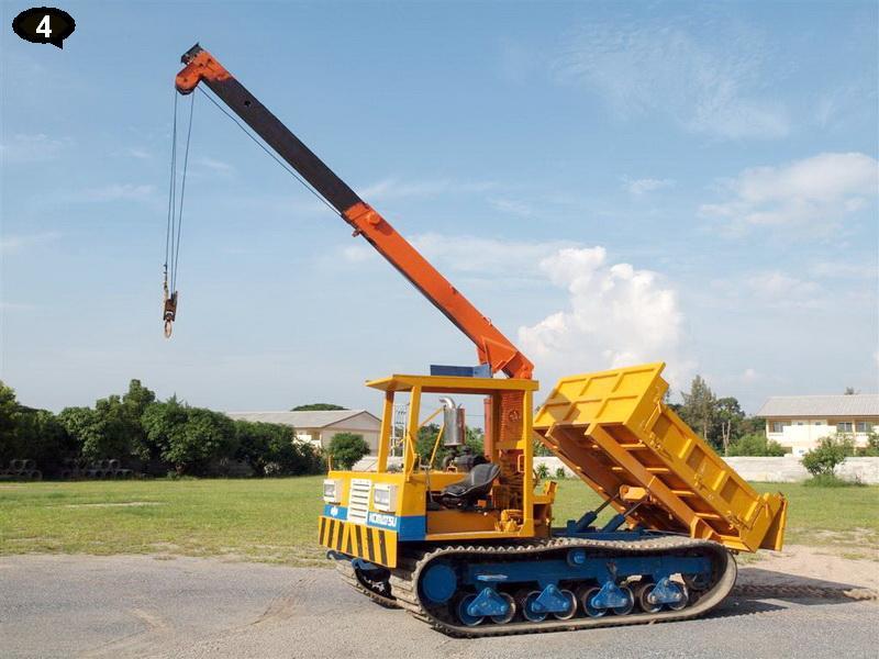 Komatsu MST-700 Swap Dump with 3ton Crane