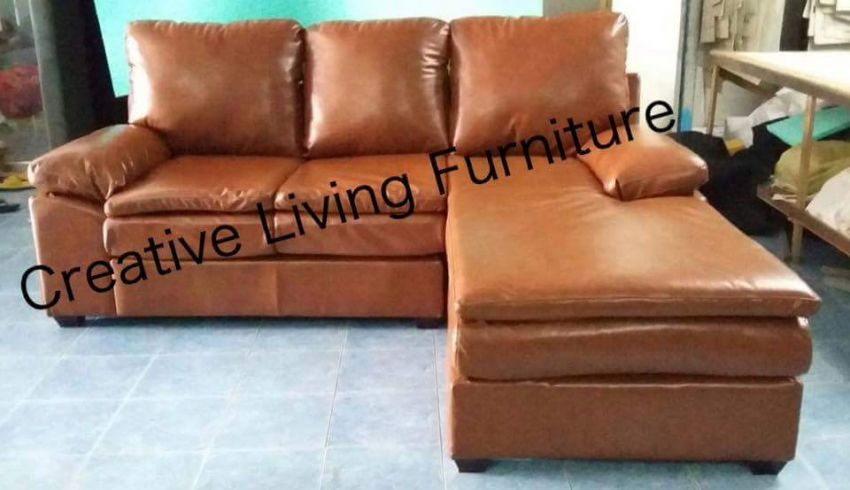 Carla Corner Sofa Faux Leather