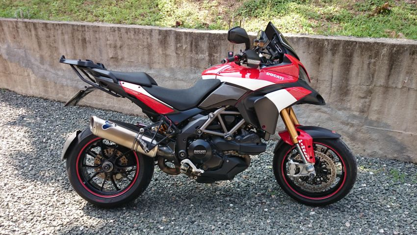 2010 Ducati Multistrada S with Full Ohlins and More