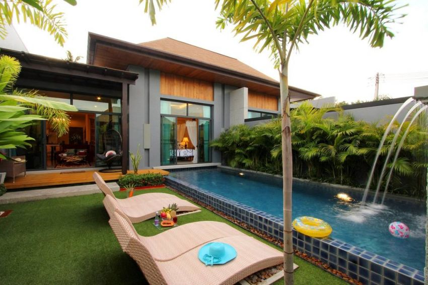 Two bed pool villa for rent in Rawai