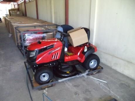 Ride on lawn mowers 500cc, Push mowers, Trimmers