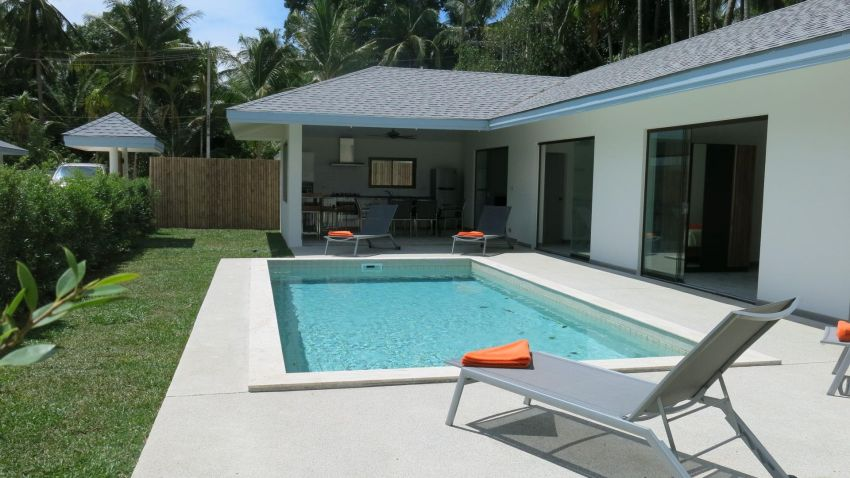 For rent 2/3/4 bedroom villas in Maenam pool 1Km from beach