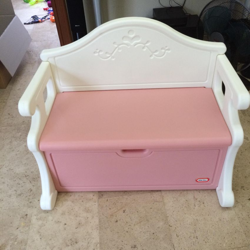 Imported Toy Storage & Sitting Bench